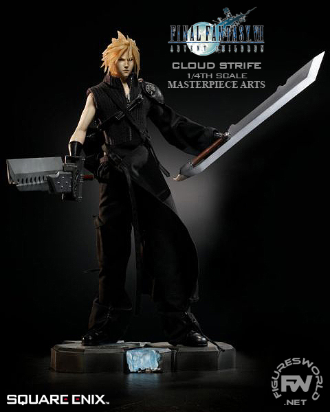 Set of Final Fantasy FF Cloud Combination Sword Blade Models Collection 7 in 1