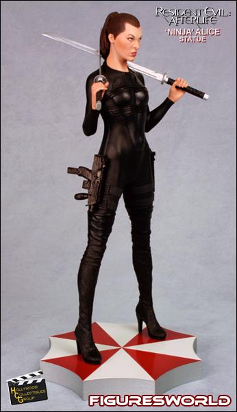FiguresWorld > Movi... Milla Jovovich Resident Evil Movie