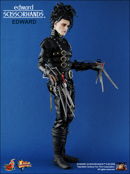 an analysis of the tale of edward scissorhands