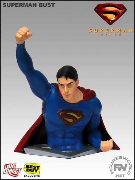 Superman Returns Superman Bust
