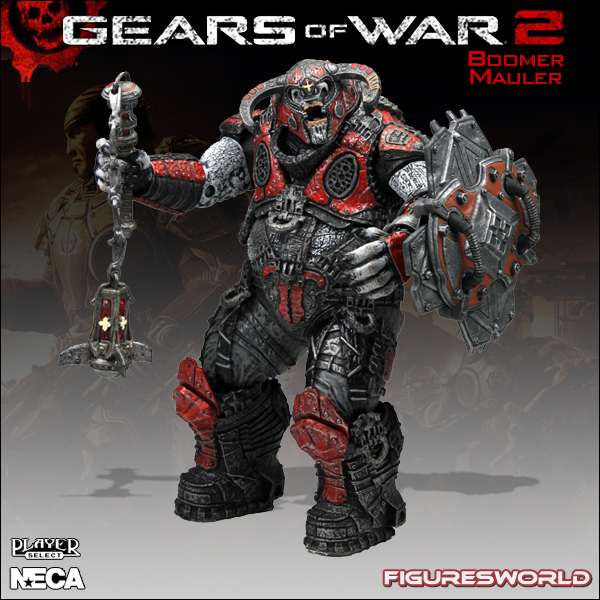 Gears of War 2 Boomer Mauler 7in Action Figure NECA Toys